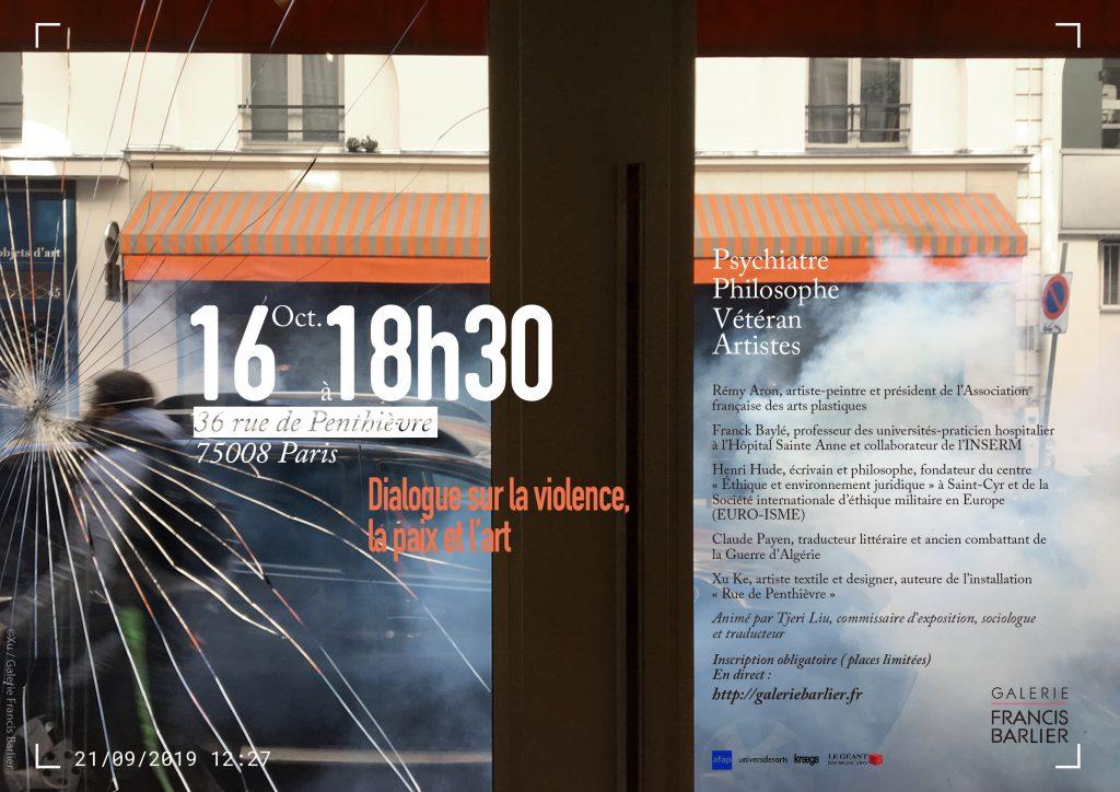 Dialogue sur la violence, la paix et l'art
