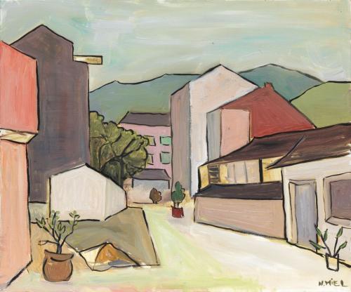 Natalie Miel Rue de village