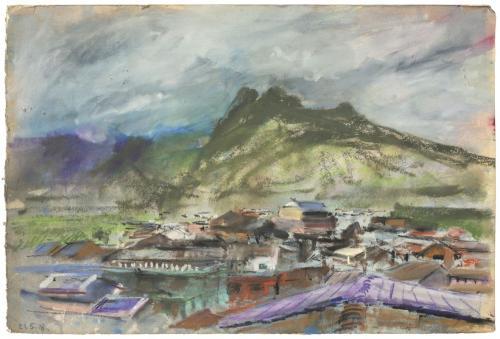 Olivier de Mazières Yongija, 40x60