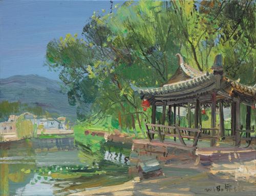 Zhu Sha Pavillon fraternel